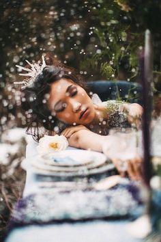 Allunda Quarz-Krone ungewöhnliche Tiara Braut von beretkah auf Etsy