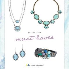 Pretty, pretty!!  Shop my Chloe + Isabel boutique!  chloeandisabel.com/boutique/kristenbrawner #spring  #loveblue
