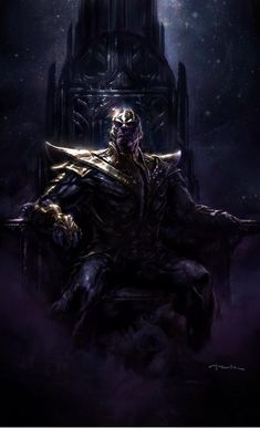 Guardians of the Galaxy | Thanos by Andy Park