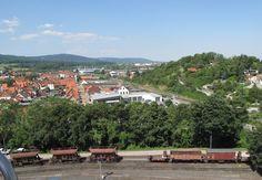 Fahrt mit dem Riesenrad zum Sachsen-Anhalt-Tag 2014 in Wernigerode.
