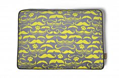 Mustache Dog Bed from P.L.A.Y. - Dog Milk