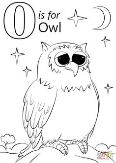 Free Cutest Cartoon Owl Coloring Pages and others free printable coloring pages for kids and adults! Just free for you! Preschool Coloring Pages, Halloween Coloring Pages, Coloring Pages For Boys, Alphabet Coloring Pages, Free Printable Coloring Pages, Coloring Sheets, Coloring Books, Kids Coloring, Free Coloring