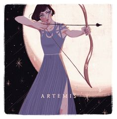ARTEMIS the goddess of virginity and the hunt