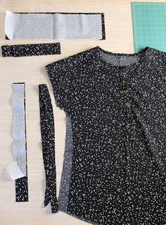 Handmade Style Tunic Sew Along - Day 4