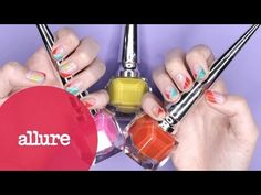 Rainbow Nail Art featuring Sophy Robson - YouTube