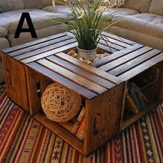 coffee table. add wheels!