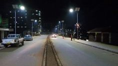 Mbarara Street lighting in final stages, city looks like Los Angeles at night — Blizz Uganda