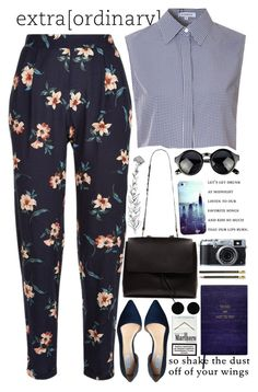 """That's the spirit"" by sandrafilipa ❤ liked on Polyvore featuring Glamorous, Cole Haan, Casetify, Sloane Stationery and AeraVida"