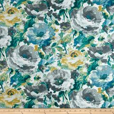 Richloom Solarium Outdoor Lessandra Mist from @fabricdotcom