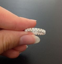 "The ""crazy"" simple ring 