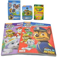 Paw Patrol Coloring Set and Activity Bundle  5 Pieces *** Find out more concerning the wonderful product at the image link. (This is an affiliate link). #christmaswishes