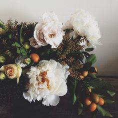 FLOWERS — Wild Folk Studio | Somerville, MA- with fruit!