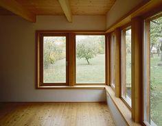 Anna Wickenhauser Architektur  Haus P Haidhof/A Privathaus Zubau Wicken, Koti, Anna, Windows, Architecture, Style, Interior Designing, Ad Home, Arquitetura