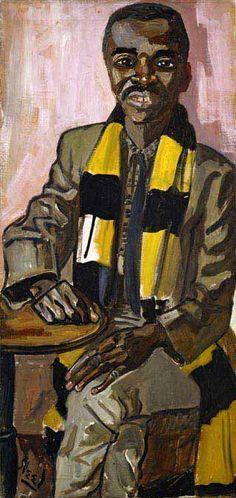 1959 Alvin Simon by Alice Neel