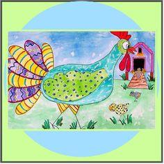 Dynasty Brush | Dynasty Teacher's Corner - Crazy Chickens - Grade Level 4 - 8 - By: Christy Hartman