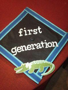 Graduation Cap - less gator more glitter!!!!!
