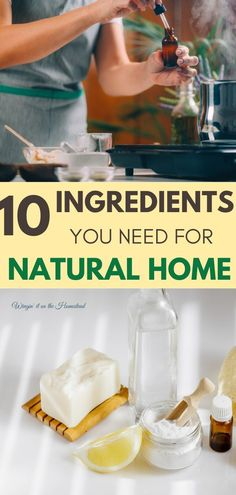Ready to get rid of toxic chemicals in your home? Wingin' it on the Homestead shows you 10 ingredients you need for a natural home! One of the important aspects of simple living for us is eliminating the need to purchase chemical cleaners from the store. Discover how to live more naturally with these 10 ingredients you can easily get to make your home a clean, safe environment! #wingingitonthehomestead #chemicalfree #nontoxif In Season Produce, Fruit In Season, Natural Cures, Natural Health, Health Tips, Health And Wellness, Reduce Reuse, Cleaners Homemade, Diy Cleaning Products