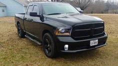 My Christmas present!! 2015 dodge ram black out!!!  Love it!!!!