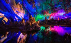The Coolest Places On Earth: Reed Flute Caves- Guangxi, China (Photos)