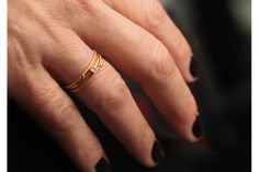 Stackable Diamond Rings - Apriati