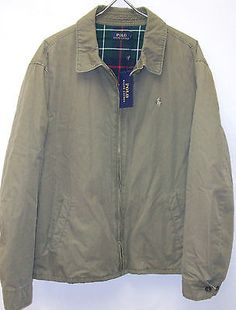 Polo Ralph Lauren LANDON Cotton Windbreaker Jacket Coat $165-185 ...