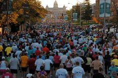 The Des Moines Marathon. A true runner's dream. Catch 26.2 miles of accomplishment. Catch your finish line feeling in Des Moines! #CatchDSM #RunDSM