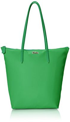 Lacoste Women's Concept Vertical Tote Bag  Symbol of relaxed elegance since 1933, the Lacoste brand, backed by its authentic roots in sports, offers a unique and original universe through the medium of a large range of products for men, women and children. In the 114 countries where the brand is present with a selective distribution network, every second two Lacoste products are sold: apparel including the famous l.12.12 polo shirt, leather goods, fragrances, footwear, eyewear, watch..