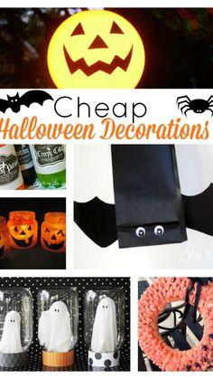 Cheap Halloween Decorations, Halloween Crafts For Kids, Outdoor Halloween, Holidays Halloween, Scary Halloween, Vintage Halloween, Happy Halloween, Halloween Ideas, Zombie Decorations