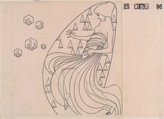 Drafts for metal relief, 1904 - Koloman Moser - WikiArt.org