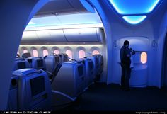 DREAMLINER - cool plane interior or what!