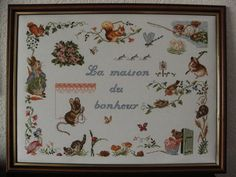 grille broderie beatrix potter
