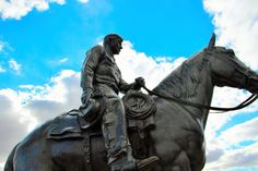 Will Rogers and Soapsuds on Texas Tech's campus!