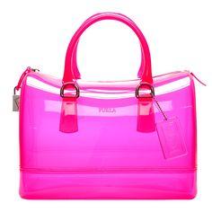 Handbag Furla Candy Bag | Furla transparent Candy bag » La Moda Dubai | The UAEs authoritative ...