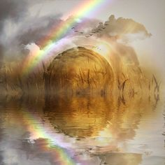 Free Image on Pixabay - Rainbow, Water, Landscape, Sparkle Free Pictures, Free Images, Mantra, Archangel Azrael, Rainbow Water, Memory Problems, We Energies, Spiritual Path, Auras