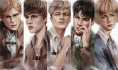 SnK boys by e-mphasis on Deviantart