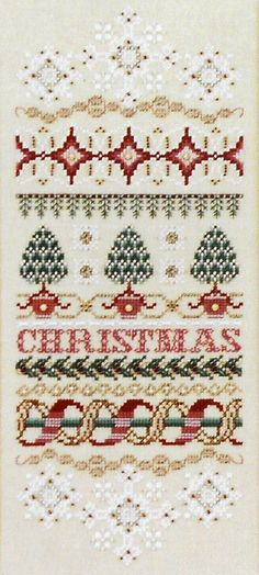 Just Nan Christmas Elegance band sampler & Embellishment Beads Accessory Pack Kit - Counted Cross Stitch Pattern Chart.  Also available from ABC Stitch.com  http://www.abcstitch.com/optioncart/image.php?id=7437=http://www.abcstitch.com/subjects_php/subjects.php?page=2=yes=christmas%20samplers?page=2=yes=christmas%20samplers