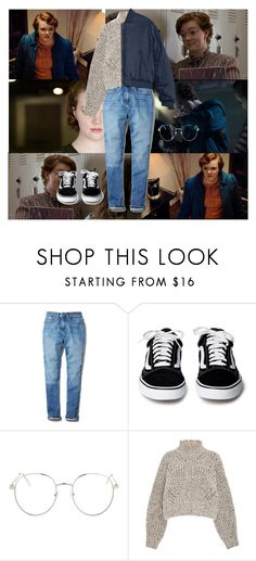 """""""Barb Holland"""" by cole-sprouse-is-life ❤ liked on Polyvore featuring Calvin Klein, Topshop, Isabel Marant, New, Season2, StrangerThings, justiceforbarb and BarbHolland"""