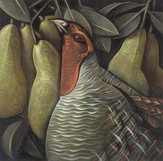 On the first day of Christmas my true love gave to me, a partridge in a pear tree.