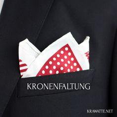 Vor allem für elegante Anlässe: Anleitung Kronenfaltung