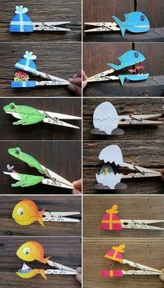 clothes pegs with surprise same . - Nice clothes pegs with surprise same … – -Beautiful clothes pegs with surprise same . - Nice clothes pegs with surprise same … – - Craft Activities, Preschool Crafts, Kids Crafts, Manualidades Halloween, Halloween Crafts For Kids, Summer Crafts For Kids, Diy For Kids, Owl Crafts, Paper Crafts