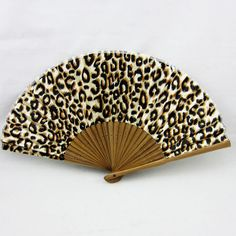 Chinese Leopard Spot Bamboo Folding Silk Hand Fan Wedding Party Gift a for sale online Animal Print Shop, Animal Print Decor, Animal Print Fashion, Fashion Prints, Animal Prints, Leopard Fashion, Motif Leopard, Cheetah Print, Leopard Prints