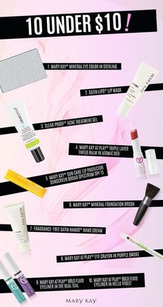 On a budget, but still want to look and feel fabulous? Try out these products!  Www.marykay.com/jeniellsah18