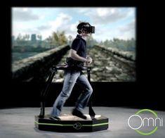 Omni Virtual Reality Treadmill   DudeIWantThat.com