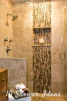 Beautiful Shower Ideas for Your Inspiration. White Subway Tiles Stand the Test of Time. Consider This Industrial Inspired Enclosure. Modern Rustic Furniture, Rustic Living Room Furniture, Living Room Modern, Modern Decor, Guest Bathrooms, Dream Bathrooms, Bathroom Design Small, Bathroom Designs, Tile Edge