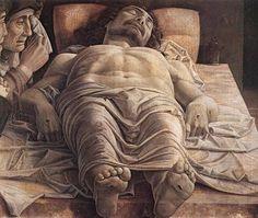 Andrea Mantegna (1431-1506, Italy) | Cristo Morto, 1480
