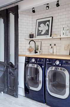the most PERFECT laundry room to have ever existed // christine dovey's home