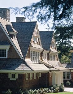 Architecture by Shope Reno Wharton Shingle Style Architecture, Shingle Style Homes, Beautiful Architecture, Architecture Details, Classic Architecture, Ancient Architecture, Sustainable Architecture, Residential Architect, House Design Photos
