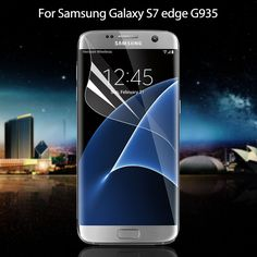 For Samsung Galaxy S7 edge G935 Soft Screen Protective Film Full Coverage for Samsung Galaxy S 7 edge Complete Covering