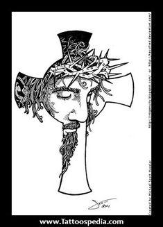 Cross Tattoos With Jesus Inside Cross 1.jpg (321×446)