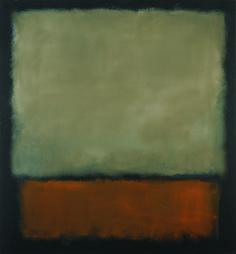 Mark Rothko, Nr. 7 (Dark Brown, Grey, Orange)